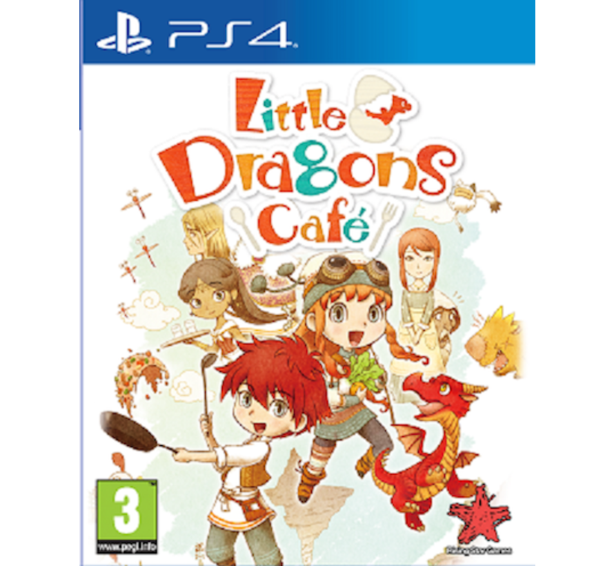 PS4 Little Dragons Café kopen