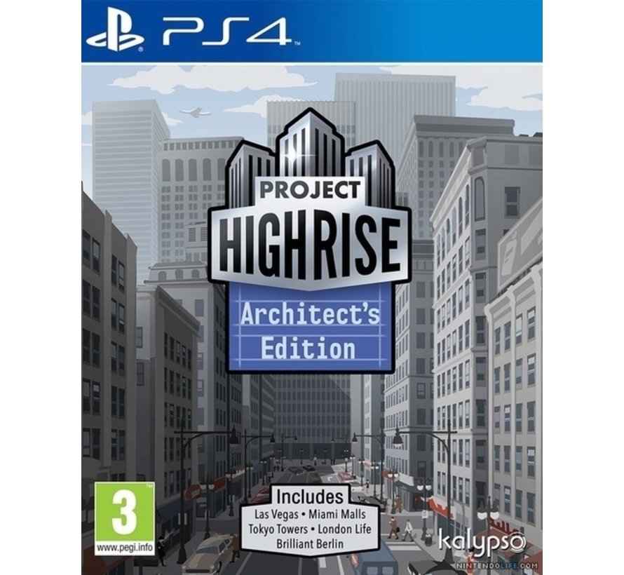 PS4 Project Highrise - Architect's Edition kopen