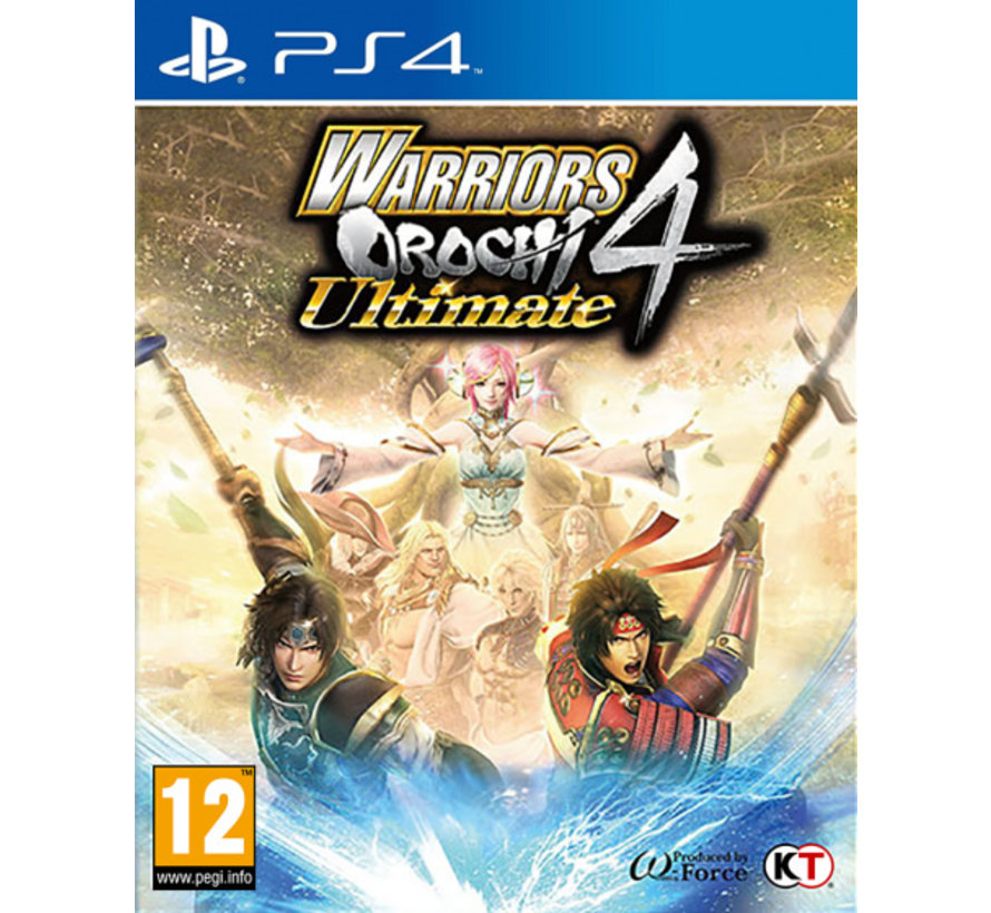 PS4 Warriors Orochi 4 - Ultimate kopen