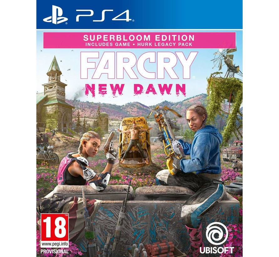 PS4 Far Cry: New Dawn - Superbloom Edition