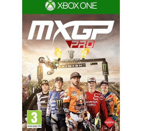 Xbox One MXGP Pro: The Official Motocross Videogame