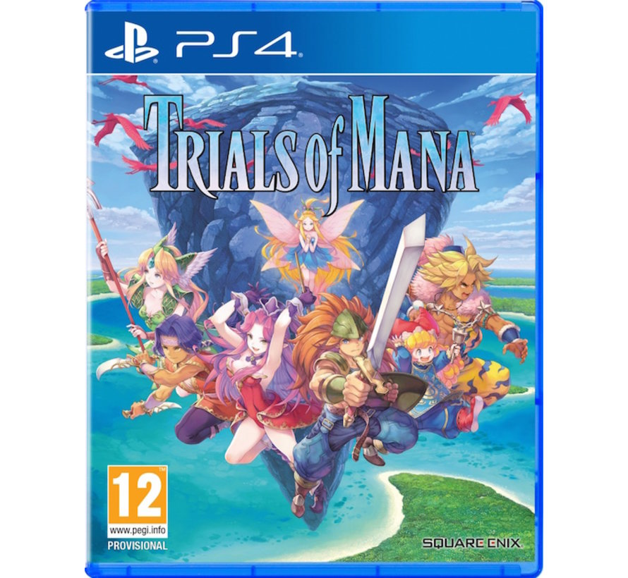 PS4 Trials of Mana