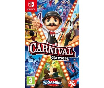 Take Two Nintendo Switch Carnival Games (Code in a Box)