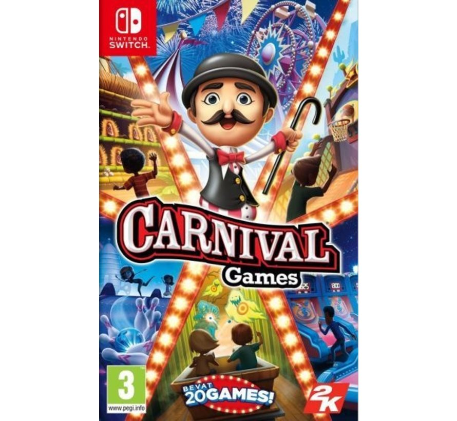 Nintendo Switch Carnival Games (Code in a Box)