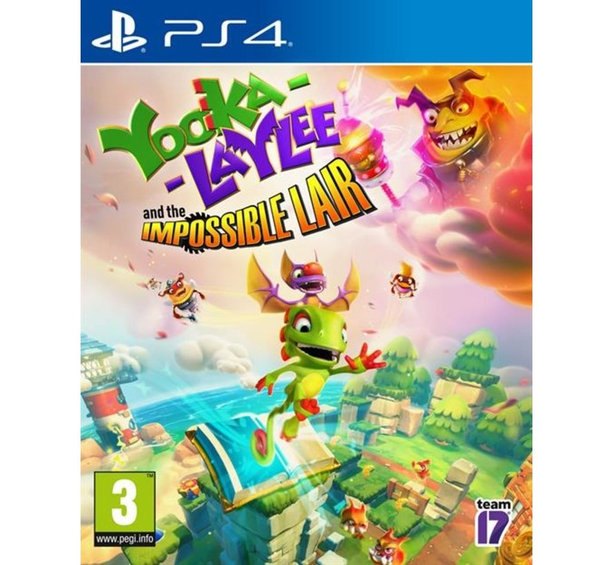 PS4 Yooka-Laylee & The Impossible Lair