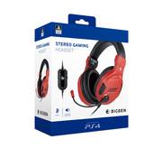 Bigben Interactive Bigben Playstation 4 Stereo Gaming Headset (rood)
