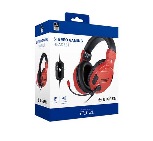 Bigben Interactive Bigben Playstation 4 Stereo Gaming Headset (rood) kopen