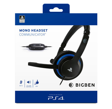 Bigben Interactive PS4 Bigben Mono Chat Gaming Headset