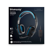 Bigben Interactive Blueway Stereo Gaming Headset Zwart/Blauw