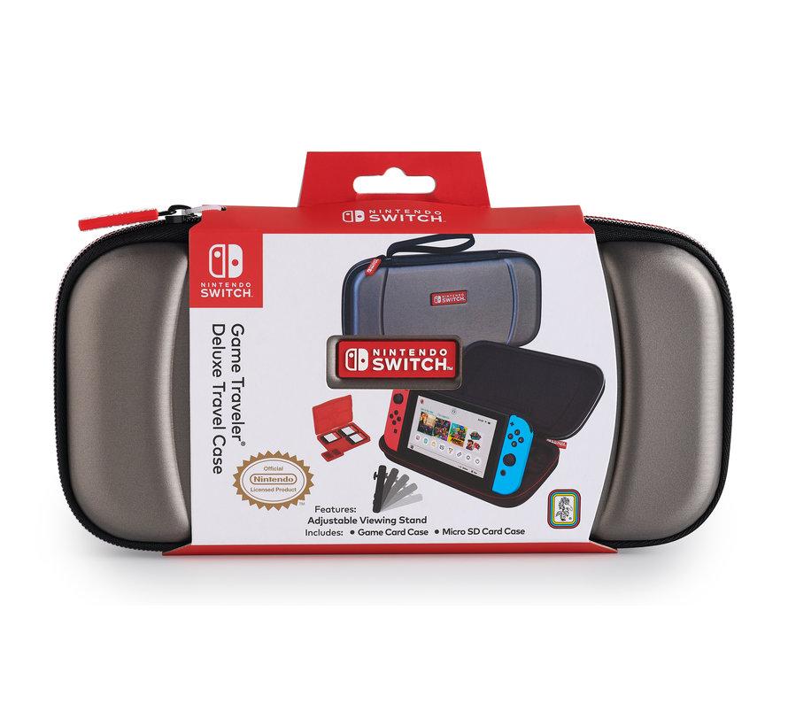 Bigben Nintendo Switch Deluxe Travel Case - Titanium kopen