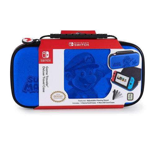 Bigben Interactive Nintendo Switch Deluxe Travel Case – Mario (blauw) kopen
