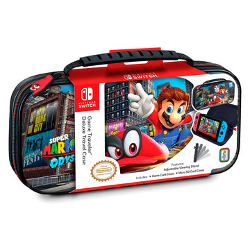 Bigben Interactive Nintendo Switch Deluxe Travel Case – Mario Odyssey