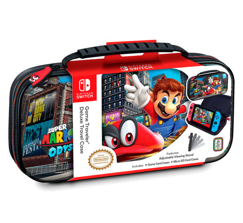 Bigben Interactive Nintendo Switch Deluxe Travel Case – Mario Odyssey kopen
