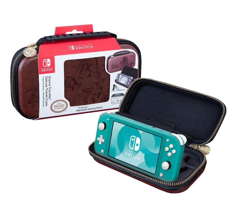 Nintendo Switch Lite Deluxe Travel Case Zelda (bruin) kopen