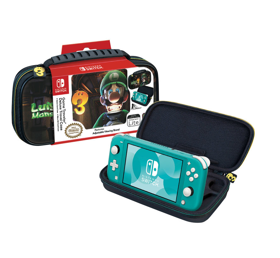 Nintendo Switch Lite Deluxe Travel Case Luigi's Mansion 3 kopen