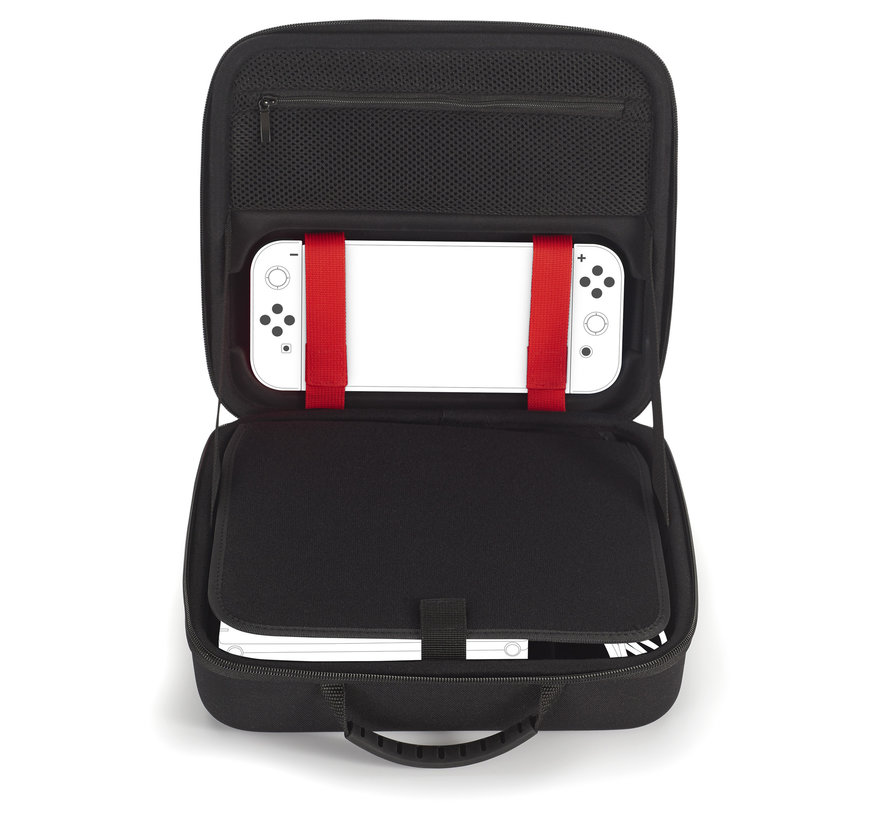 Bigben Nintendo Switch Luxe Opbergtas (blauw) kopen