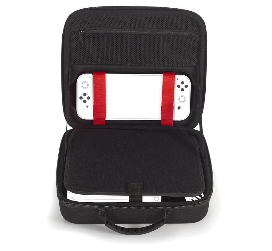 Bigben Nintendo Switch Luxe Opbergtas (roze) kopen