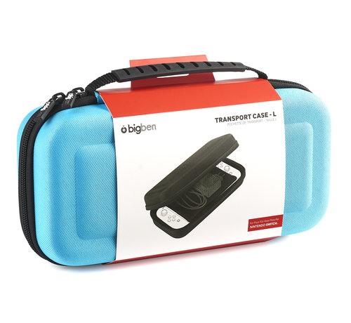 Bigben Interactive Bigben Transport Case Nintendo Switch Groot (blauw) kopen