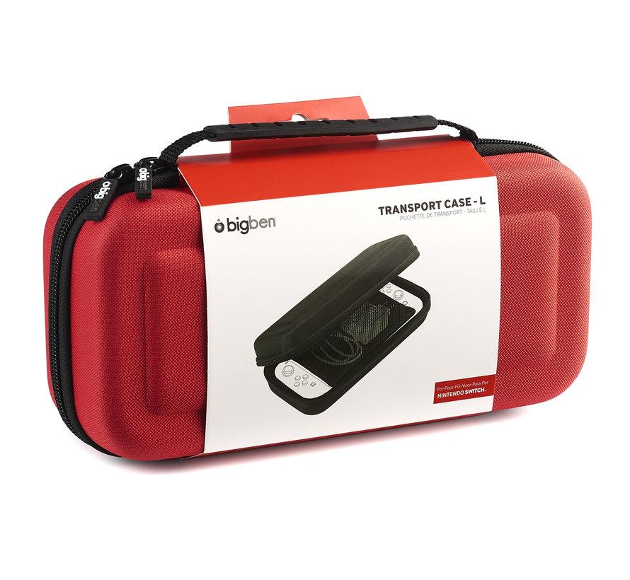 Bigben Transport Case Nintendo Switch Groot (rood) kopen