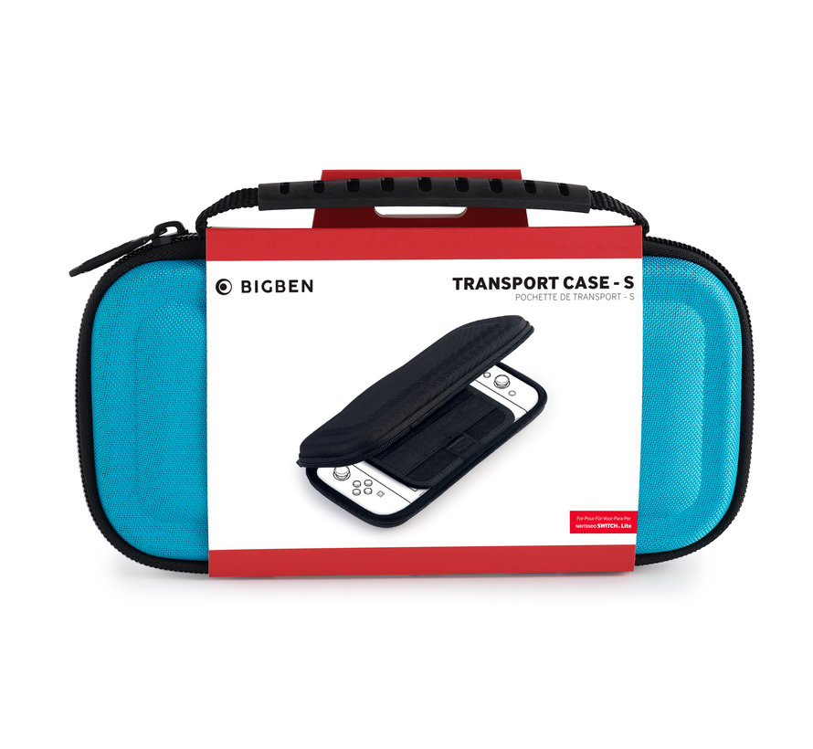 Bigben Transport Case Nintendo Switch Lite (blauw) kopen