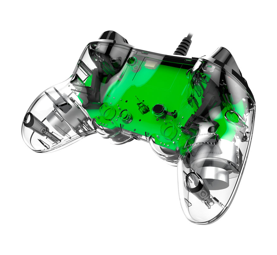 PS4 Nacon Illuminated Wired Compact Official Licensed Controller (groen) kopen