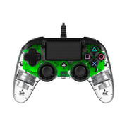 Nacon PS4 Nacon Illuminated Wired Compact Official Licensed Controller (groen)