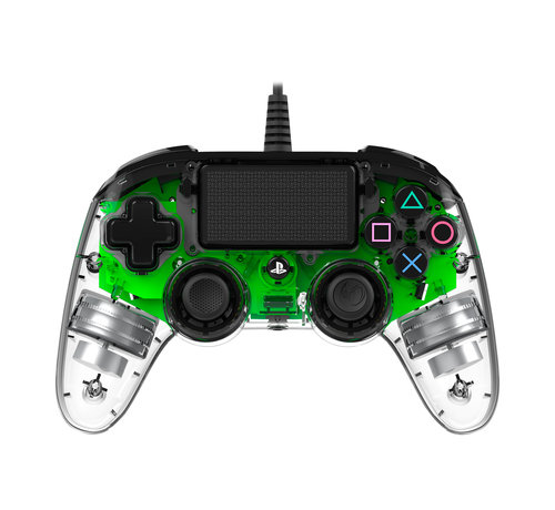 Nacon PS4 Nacon Illuminated Wired Compact Official Licensed Controller (groen) kopen