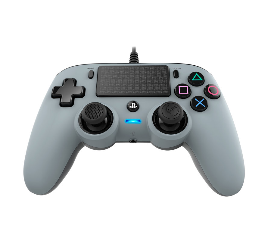 PS4 Nacon Wired Compact Official Licensed Controller (grijs) kopen