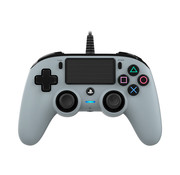 Nacon PS4 Nacon Wired Compact Official Licensed Controller (grijs)