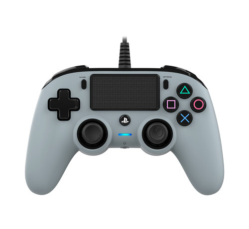 Nacon PS4 Nacon Wired Compact Official Licensed Controller (grijs) kopen