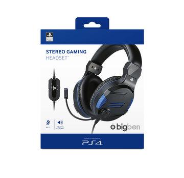 Bigben Interactive Bigben Playstation 4 Stereo Gaming Headset (zwart)