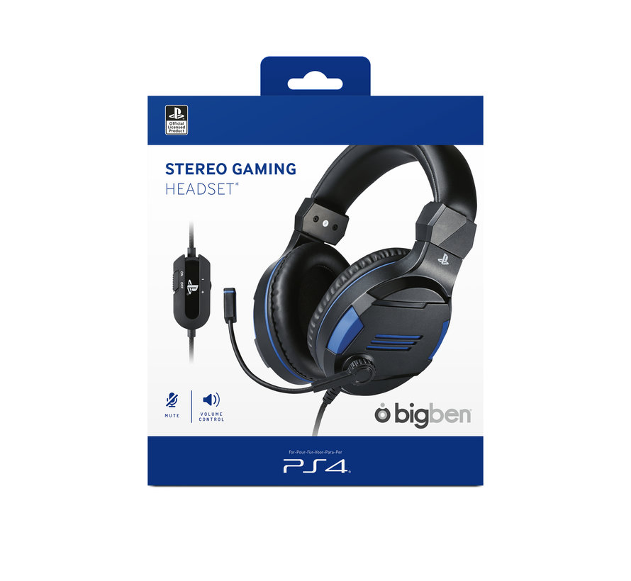 Bigben Playstation 4 Stereo Gaming Headset (zwart) kopen