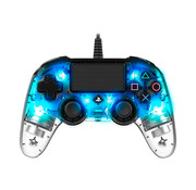 Bigben Interactive PS4 Nacon Illuminated Wired Compact Official Licensed Controller (blauw)