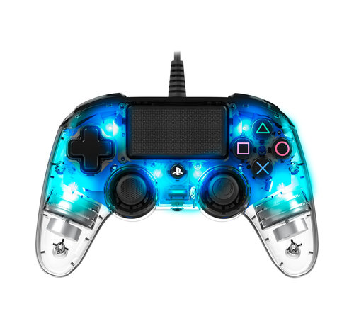 Bigben Interactive PS4 Nacon Illuminated Wired Compact Official Licensed Controller (blauw) kopen