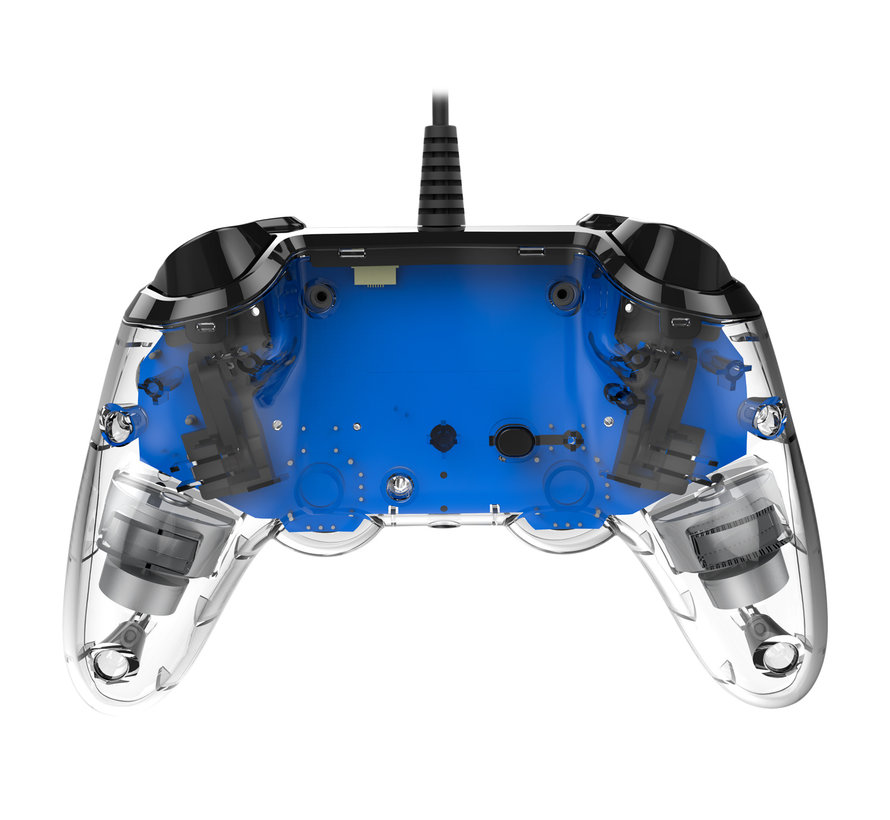PS4 Nacon Illuminated Wired Compact Official Licensed Controller (blauw) kopen