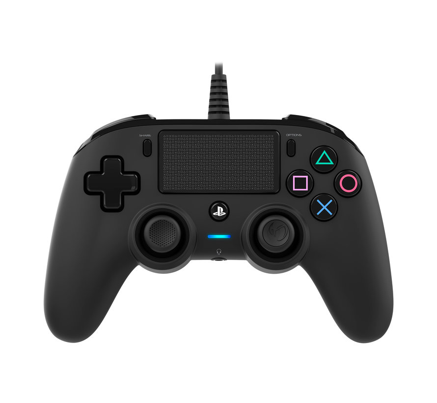 PS4 Nacon Wired Compact Official Licensed Controller (zwart) kopen