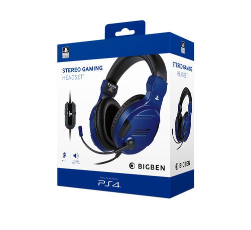 Bigben Interactive Bigben Playstation 4 Stereo Gaming Headset (blauw) kopen