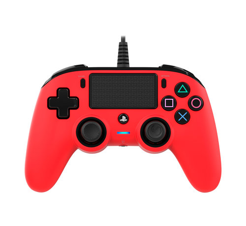Nacon PS4 Nacon Wired Compact Official Licensed Controller (rood) kopen