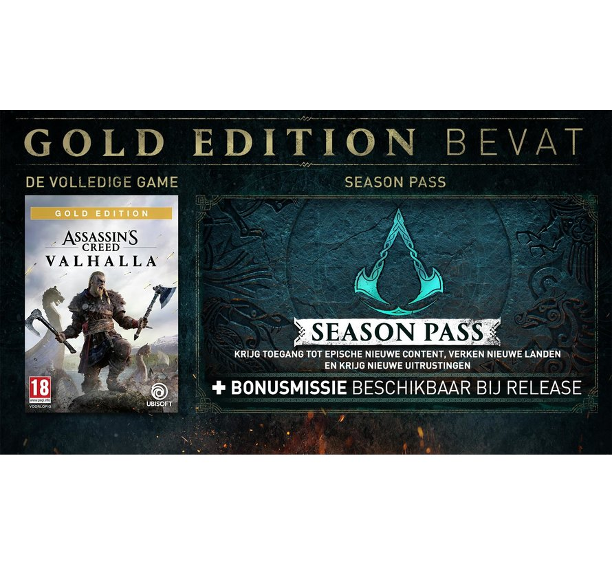 PS4 Assassin's Creed: Valhalla Gold Edition kopen