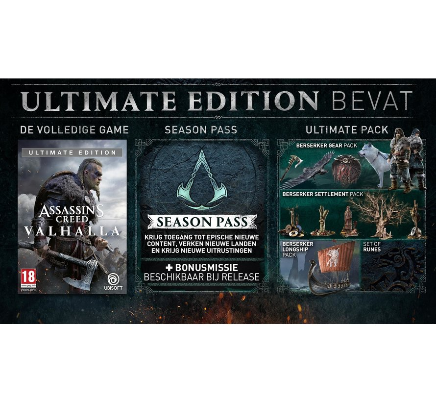 Xbox One Assassin's Creed: Valhalla Ultimate Edition kopen