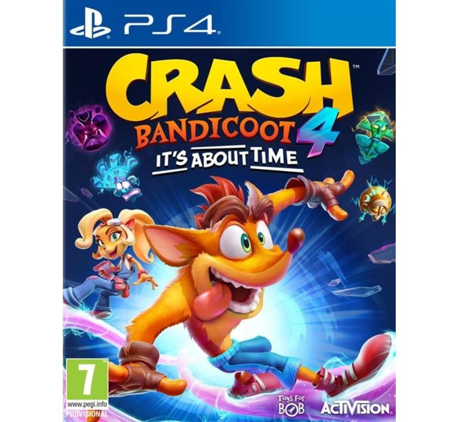 PS4 Crash Bandicoot 4: It's About Time Kopen