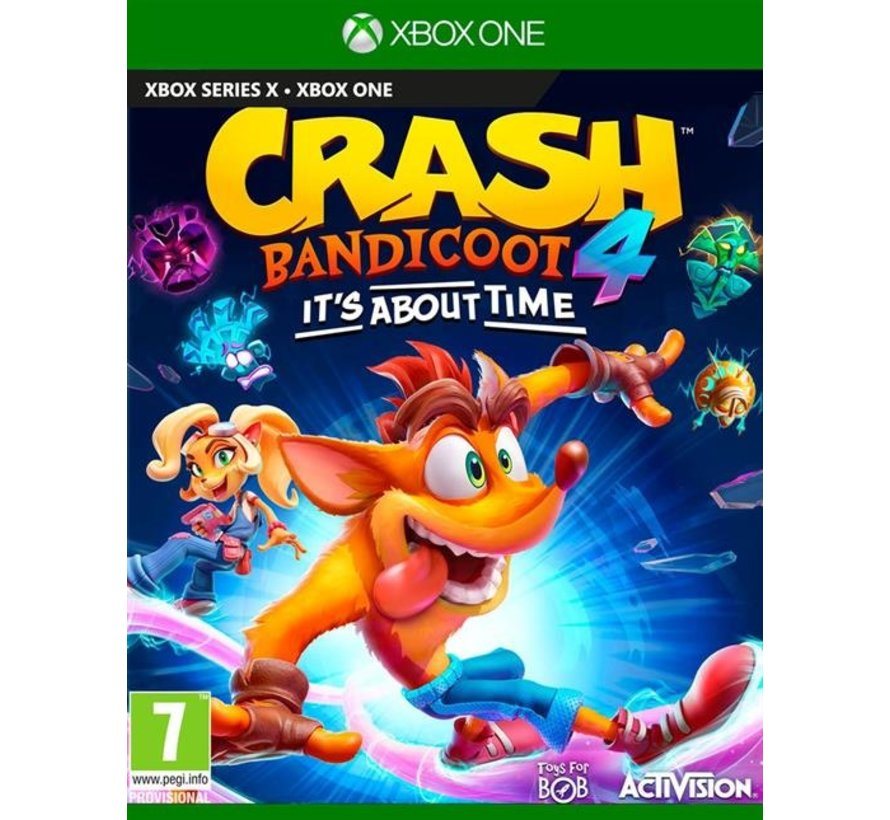 Xbox One Crash Bandicoot 4: It's About Time Kopen