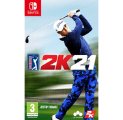 2K Nintendo Switch PGA Tour 2K21
