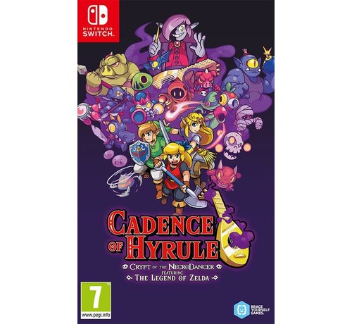 Nintendo Nintendo Switch Cadence of Hyrule: Crypt of the NecroDancer (Featuring The Legend of Zelda) kopen