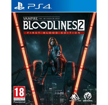 Paradox Interactive PS4 Vampire:The Masquerade Bloodlines 2 - First Blood Edition