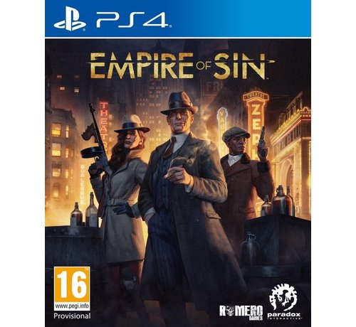 Paradox Interactive PS4 Empire of Sin - Day One Edition kopen