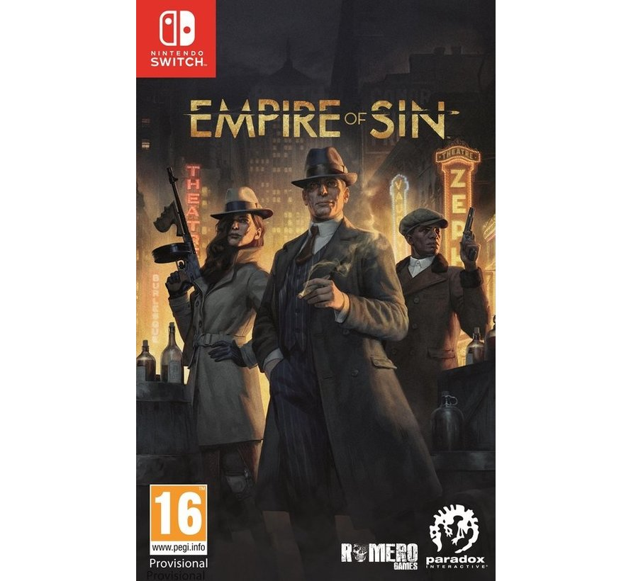 Nintendo Switch Empire of Sin - Day One Edition kopen