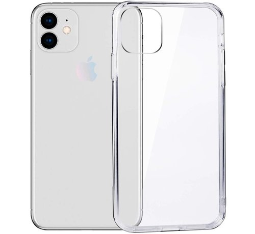 JVS Products iPhone 11 Transparant Back Cover Hoesje - Extra Dun - Siliconen - Cover- Case - Apple iPhone 11