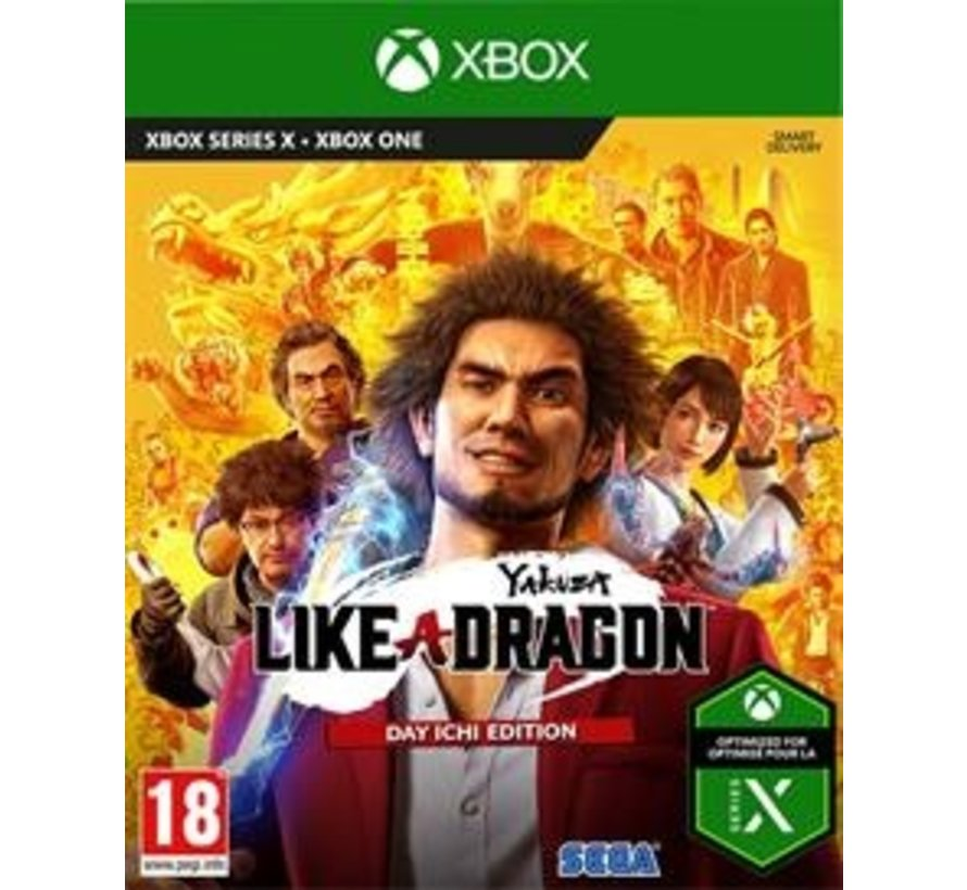 Xbox One Yakuza 7: Like a Dragon kopen