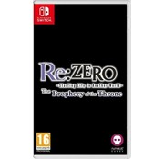 Chime Corporation Nintendo Switch Re:ZERO - The Prophecy of the Throne
